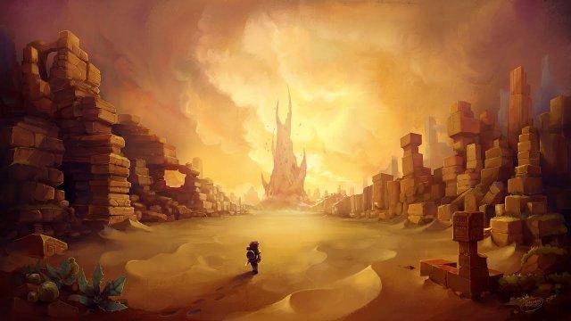 Vidéo Hytale - Art Timelapse: Zone 2 Desert