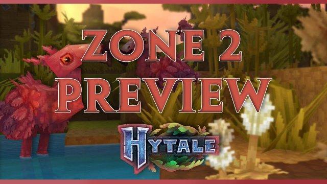 Vidéo Hytale - PREVIEW ZONE 2 et ses magnifiques FLAMANTS ROSES [FR]