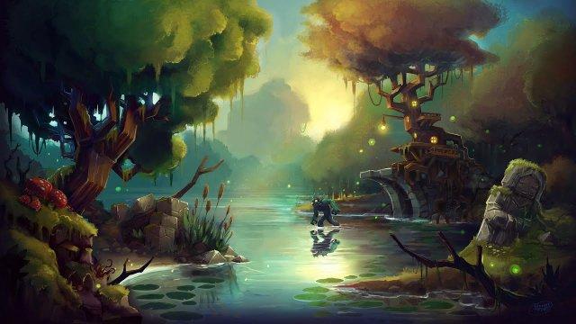 Vidéo Hytale - Art Timelapse: Zone 1 Swamp