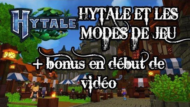 Vidéo Hytale - Les différents mode de jeu !