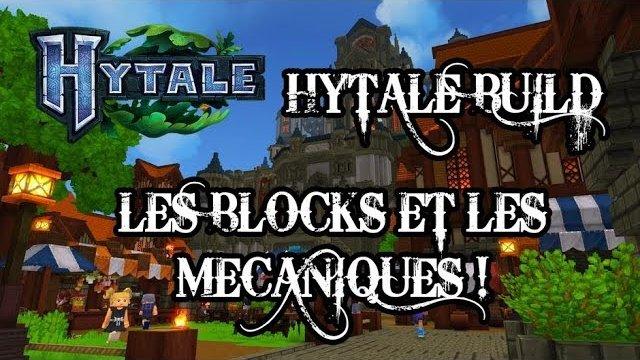 Vidéo Hytale - Les blocs et les mécaniques